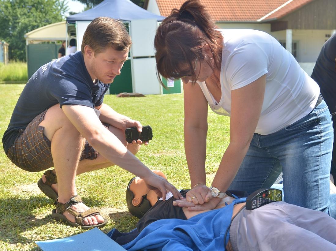 První pomoc zážitkem — resuscitace