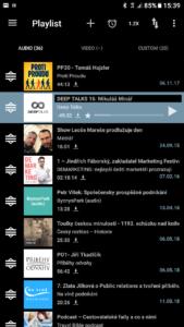 Appka na poslech podcastů: Podcast Addict – KOUD.cz