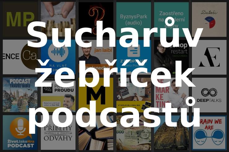 Sucharův žebříček českých podcastů – KOUD.cz