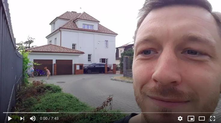 Ondřejovo první video pro PrPom tým